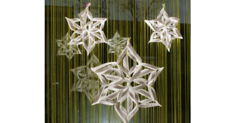 Siin on kiire viis 3D lumehelbe valmistamiseks