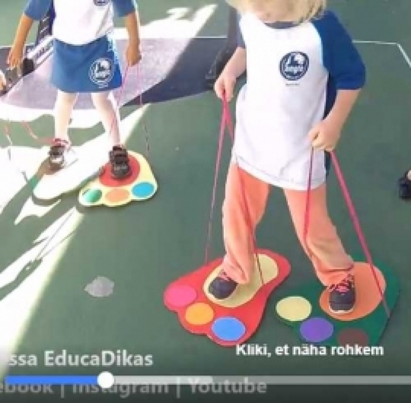 Meisterda lapsele mängutallad