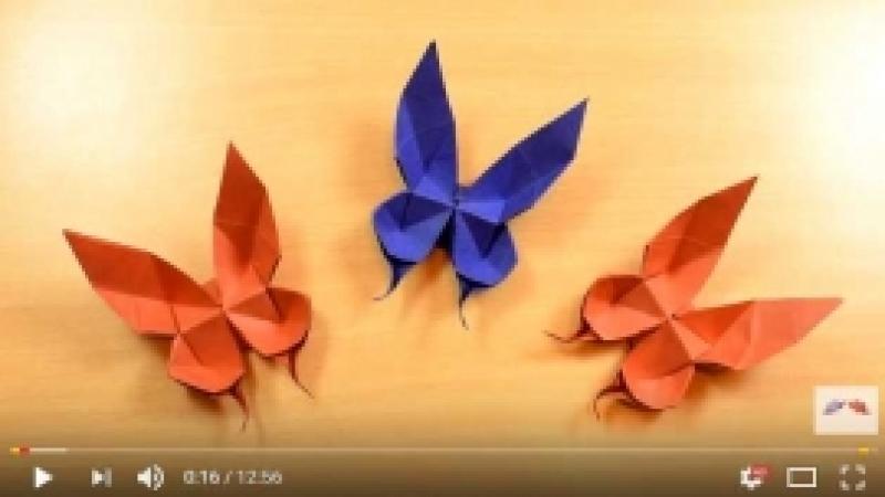 Kuidas teha paberist liblikat?