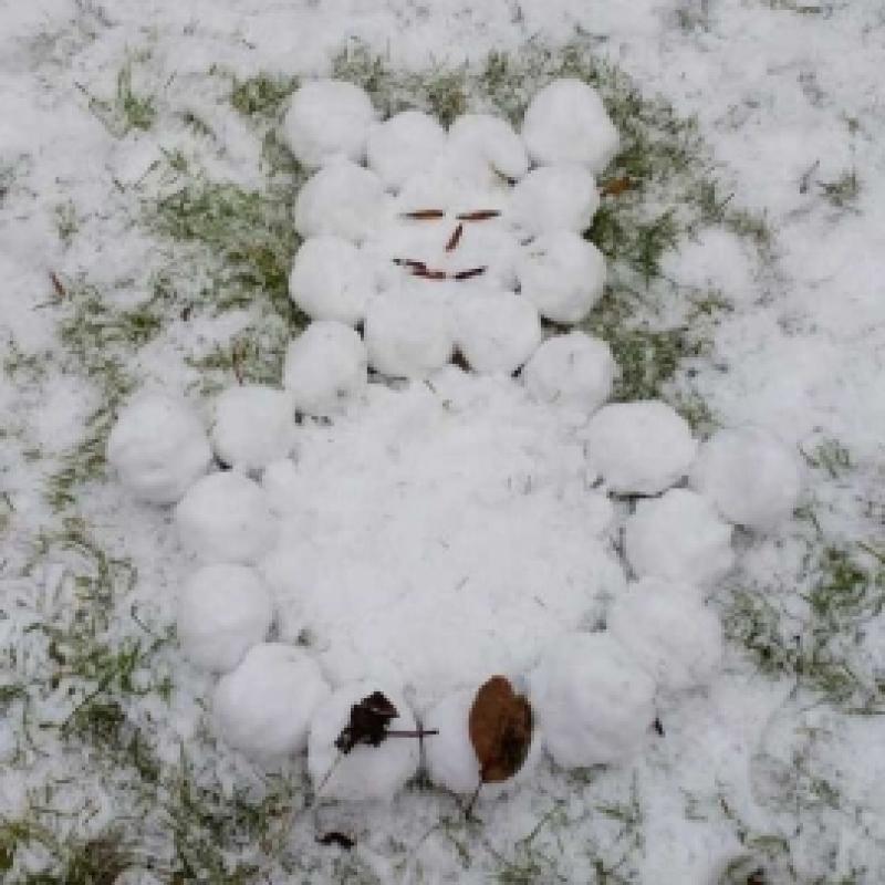 Lumememme saab teha ka siis kui lund napib