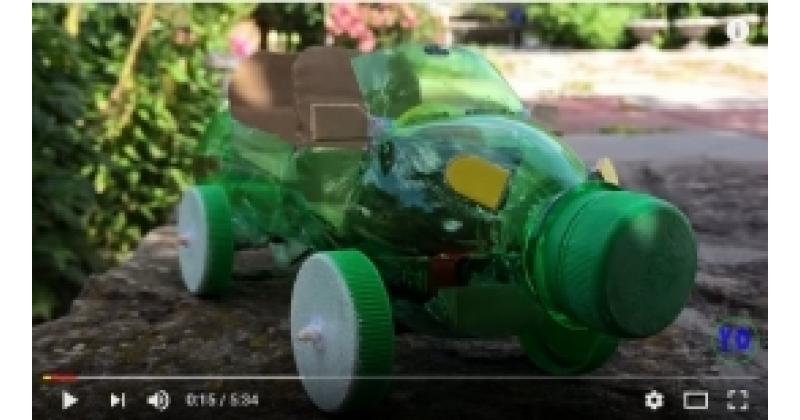 Auto - taaskasutusmaterjalidest