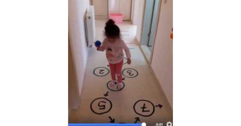 Lõbus ja aktiivne mäng väikelastele.