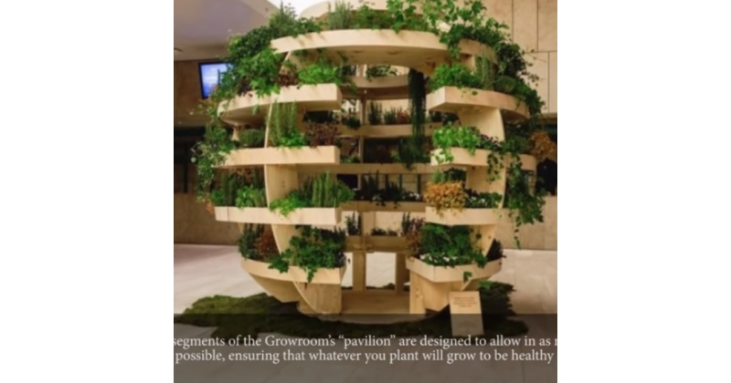 Neile, kel on vähe ruumi, aga soovivad nautida looduse rohelust.