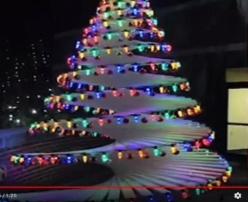 Meisterda omapärane jõulupuu, mille okkad üldse ei varise!