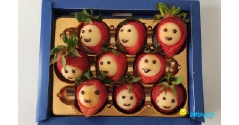 Nägudega maasikakommid!