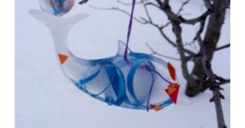 Laste jääskulptuurid
