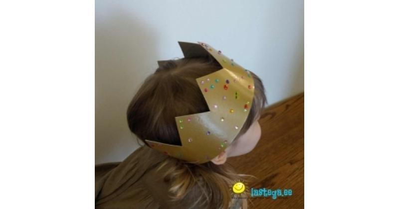 Tee endale muinasjutuprintsessi kuldne kroon!