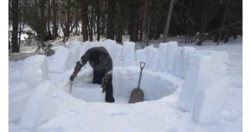 Vaata kuidas ehitada iglut!