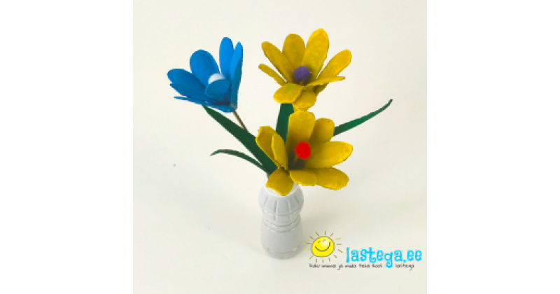 Meisterda ise munakarbist lilli!