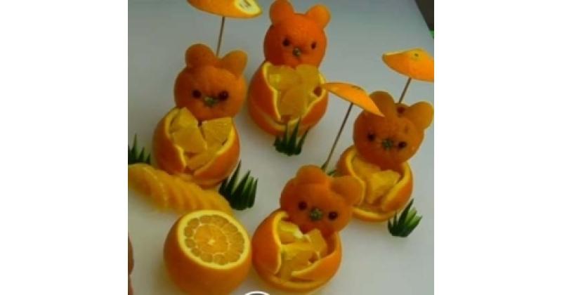 Söödavad pidulaua dekoratsioonid