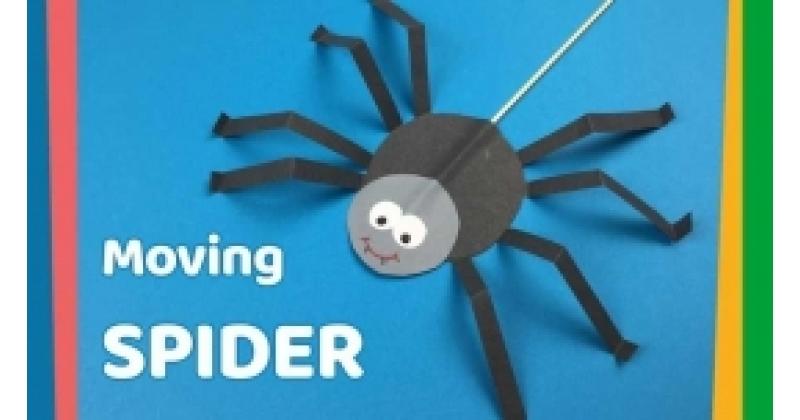 Kõndiv ämblik - halloweeni nukuteatri  tegelane :-)
