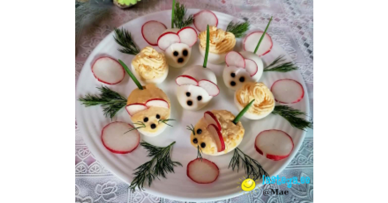 Lihavõtted! Idee, kuidas mune stiilselt kaunistada :-) Hiirekesed!